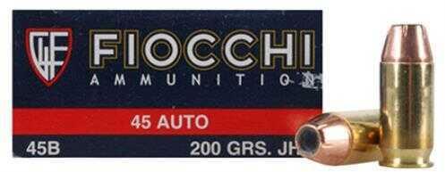 Fiocchi 45B500 45A 200 JHP 50/10