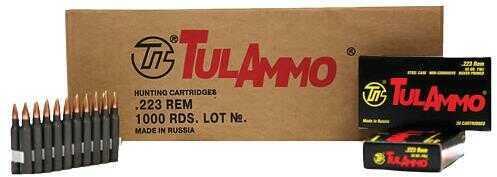 Tulammo TULA 223Rem 75Gr HP 20/25 Steel Cased TA223675