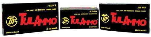 TulAmmo USA Steel Case 7.62X39 122 Grain Hollow Point 40 Round Box UL076212