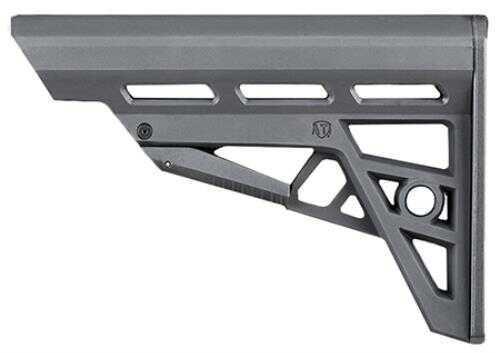 Advanced Technology Intl. Advanced Technology TactLite AR-15 Comm 6Pos Reinforced Polymer Gray B2402215