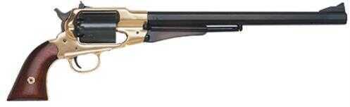 """Traditions 1858 Bison Revolver 44 BP 12"""" Adjustable Sights Walnut Grip Blued"""