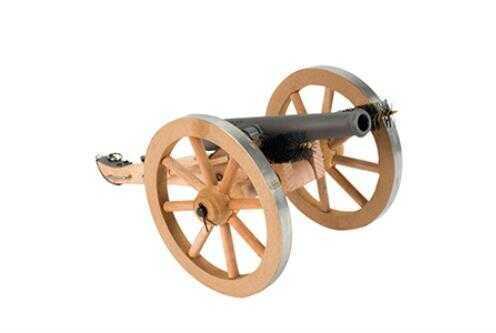 "Traditions Mini Napoleon III Cannon .50 caliber, 7.25"" barrel, 6.5"" height, 6"" wheel diameter, 3 pounds. Model"