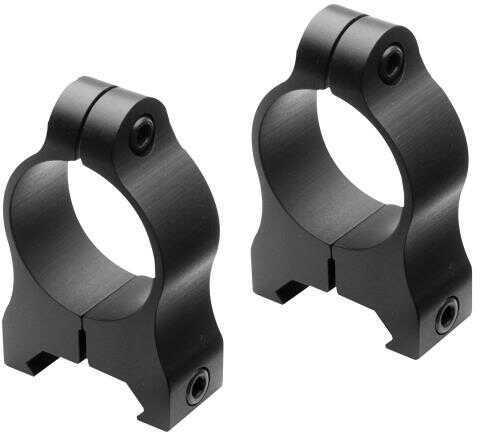 "Nikon 16166 A-Series Ring Set Low 1"" Dia Aluminum Black Matte"