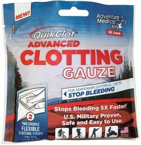 Adventure Medical Kits / Tender Corp Kits QuikClot Gauze 3x24In