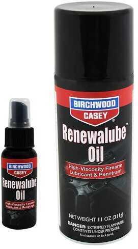 Birchwood Casey Bc RENEWALUBE BIO Firearm Oil 11Oz Aerosol