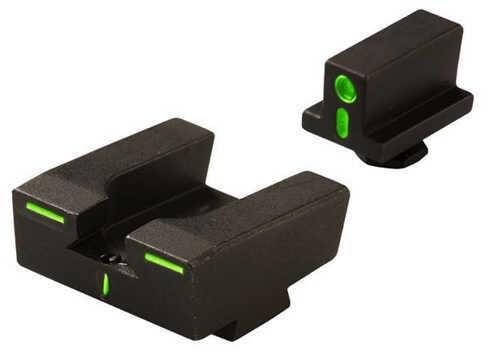 Meprolight Glock R4E Sight Family Set Green/Green Front & Rear Md: 12224G