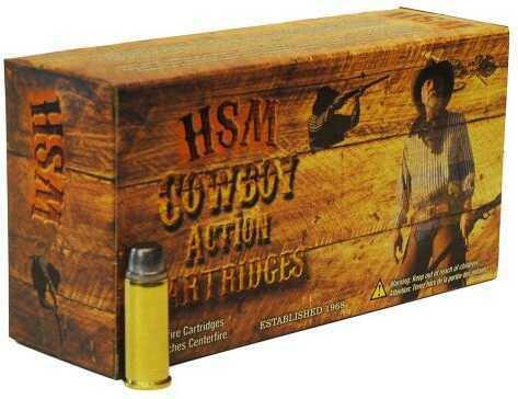 HSM / Hunting Shack Inc HSM 45 Colt 200gr RNFP 50 rounds cowboy ammunition