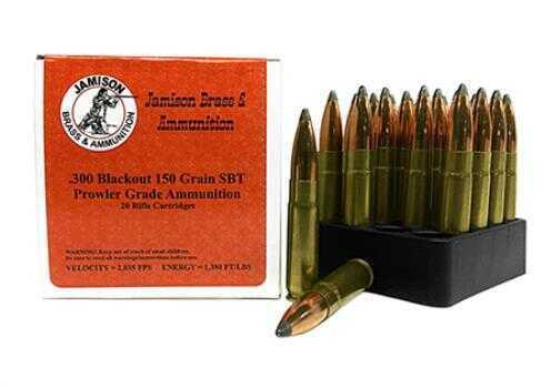 Jamison 300 AAC Blackout 150 gr JSP 20 Rounds Ammunition