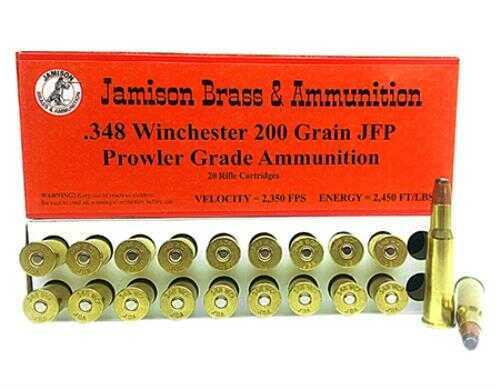 Jamison 348 Winchester 200gr JFP 20 Rounds Ammunition