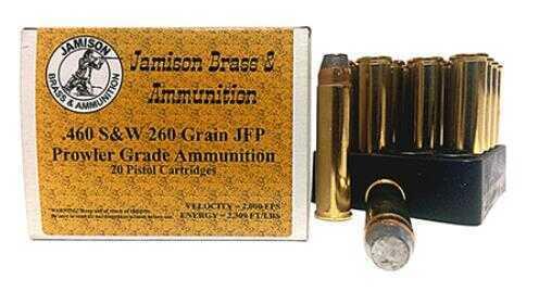 Jamison 460 S&W 260 gr JFP 20 Rounds Ammunition