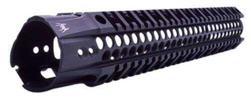 """Spike's Tactical Spikes SAR2112 BAR2 Quad Rail AR-15 12"""" Aluminum Black"""