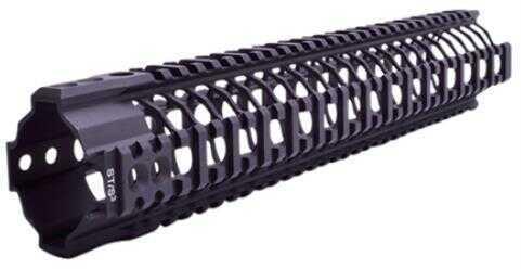 """Spike's Tactical Spikes SAR3213 SAR3 Quad Rail AR-15 13.2"""" Black"""