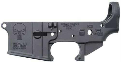 Lower Reveiver Spike's Tactical Spikes Stripped Lower Punisher AR-15 Multi-Caliber Black STLS015