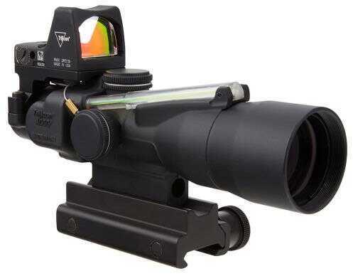 Trijicon 3x30 Compact ACOG Scope with LED RMR 3.25 MOA Red Dot Combo TA33-C-400117 TA33C400117