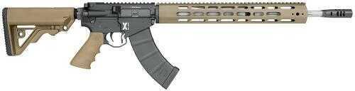"Rifle Rock River Arms LAR-47 X-Series Semi-Auto 7.62x39 18"" 30+1 Tan Stock Black Rec XAK1751T"