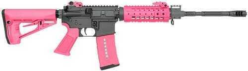 "Rock River Arms LAR-15 NSP CAR Semi-Auto Rifle 223 Remington 16""Barrel 30+1 Rounds Pink Stock Black Receiver Semi-Automatic RifleAR1420P"