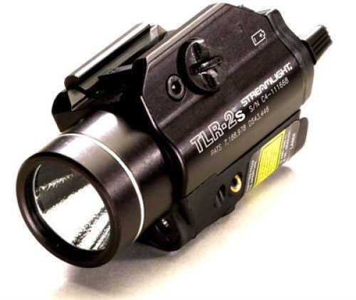 Streamlight TLR-2S Tac Light W/Laser Black C4 Led 160 Lumens With Stobe 69230
