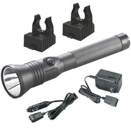 Streamlight Stinger Led Flashlight C4 Led 200 Lumens AC/Dc Charger Black 75863
