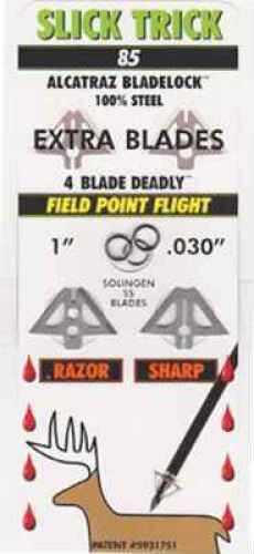 Slick Trick Broadheads Slick Trick Broadhead Blades Standard 85 grain Size 85gr STXBL85