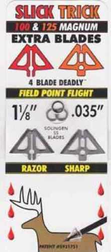 Slick Trick Broadheads Slick Trick Broadhead Blades Magnum 100/125 grain Size 100gr/125gr STXBLM