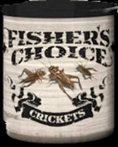 TimBuckTu Fisher's Choice Bait 2 1/2oz Can Crickets Md#: 4124