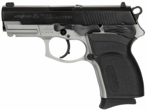 Bersa Thunder Pro Ultra Compact 45ACP Duo-Tone / Matte Black 7 Round Checkered Black Polymer Grip Double/Single Actions Semi Automatic Pistol