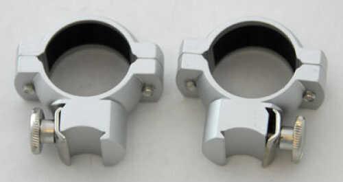 """Tasco 1"""" Rings, .22/Airgun Matte Aluminum 797MAC"""