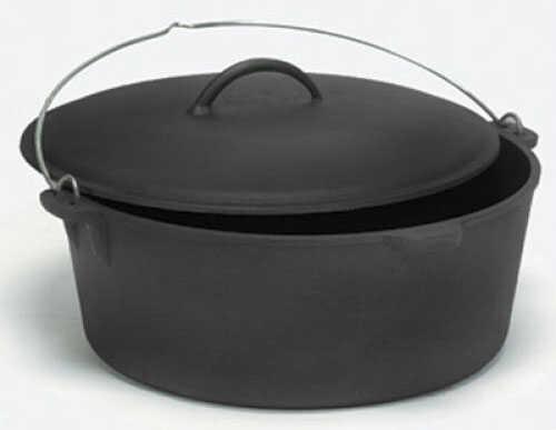 Tex Sport Pre-Seasoned Cast Dutch Oven 8 qt. - Offers better protection against rust & provides a non-stick su 14009