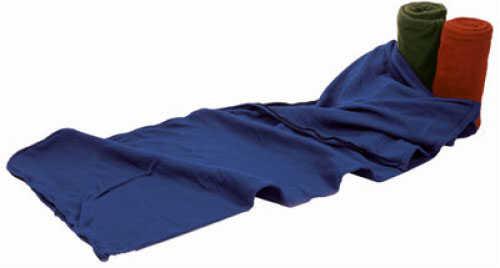 "Tex Sport Fleece Sleeping Bag & Liner Hunter Green - 75"" x 32"" - Temperature rating of +50 degrees F - Machine 15207GR"