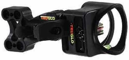 Truglo Bow Sight W/ Light Carbon Xs Black 4-Pin W/Lig .019 Size 0.019 TG5704B