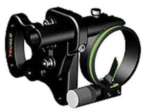 TruGlo Pendulum Sight w/Light Black 1 Pin .029 RH/LH Model: TG700