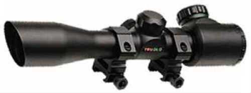 Truglo Crossbow Scope Black 4X32 Ir W/Rings TG8504B3L