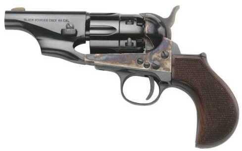 "Taylor 1860 Army Snub Nose .36 Caliber 3"" Barrel Birdshead Grips Fluted Cylinder Cap and Ball BP Revolver"