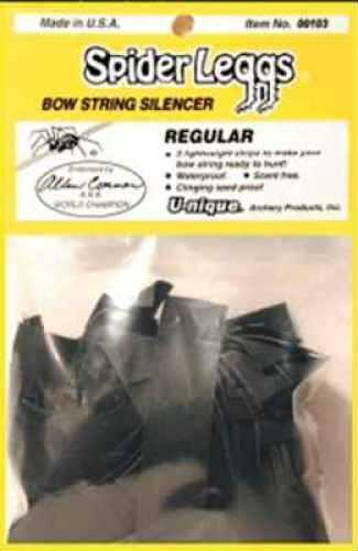 U-Nique Archery U-Nique Spider Leggs Regular Black-Bulk 100pk 00103