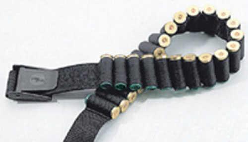 Uncle Mikes Cartridge Belt Shotgun Nylon Web Black 88051