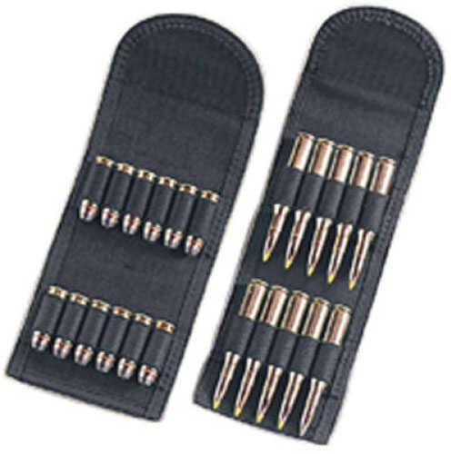 Uncle Mikes Cordura Cartridge Carrier, Black Folding Handgun 88441