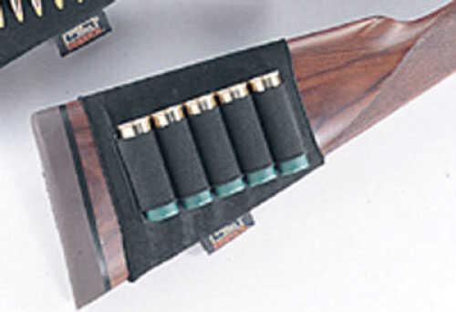 Uncle Mikes Butt Stock Shell Holder Shotgun - Open Style Black 88491