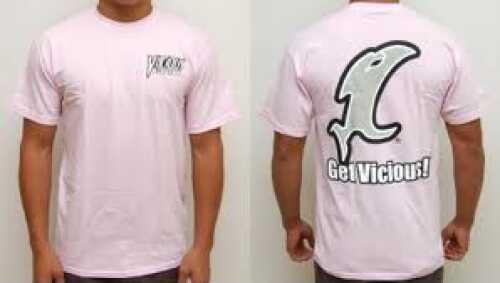 Vicious Fishing Logo T-Shirt X-Large Pink Md#: CSSPK-XL