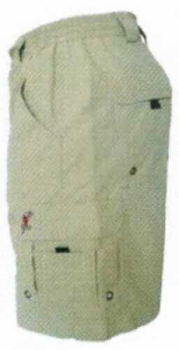 Vicious Fishing Shorts Medium 32-34 Waist Khaki Md#: CVF303-M