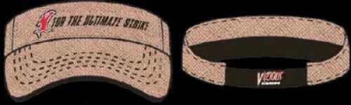 Vicious Fishing Logo Visor OSFA Straw Md#: CVSTR
