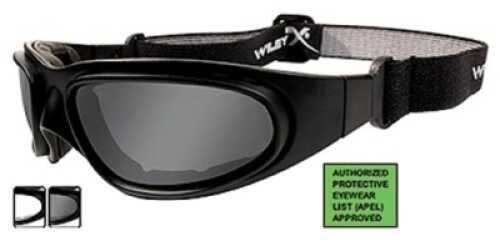 Wiley X Inc. Wiley X Polarized Sunglasses Sg-1 Smoke Grey & Clear/Matte Black Md#: 70