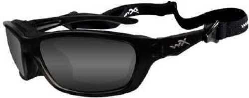 Wiley X Inc. Wiley X Polarized Sunglasses Brick Smoke Grey/Gloss Black Md#: 857