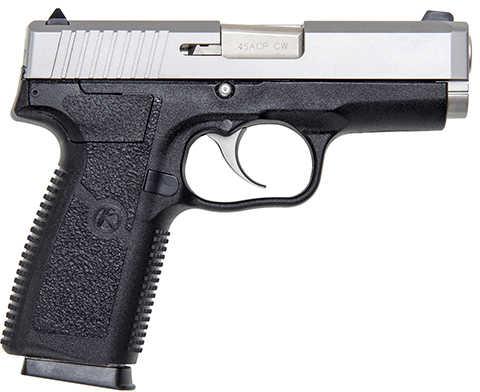 "Kahr Arms CW45 45 ACP 3.6"" Barrel Black Polymer Frame Matte Stainless Steel Slide Semi -Auto Pistol CW4543"