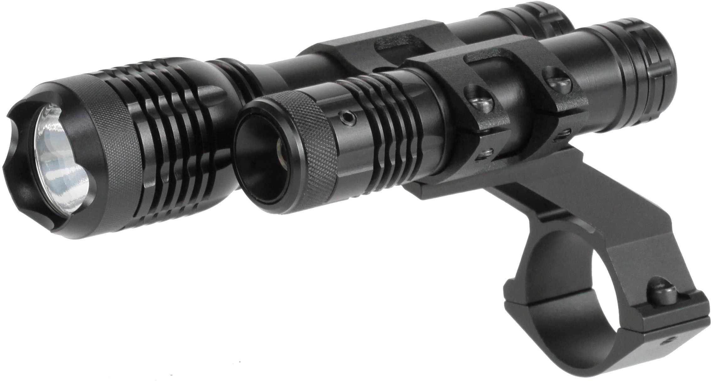 """Laser Genetics 532nM Green Laser w/160 Lumen 1"""" Mount TWLLGCP"""