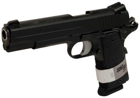 Sig Sauer 1911 45 ACP Black Stainless Steel Ergo XT Grip 2- 8 Round Mags Semi Automatic Pistol 191145BXO