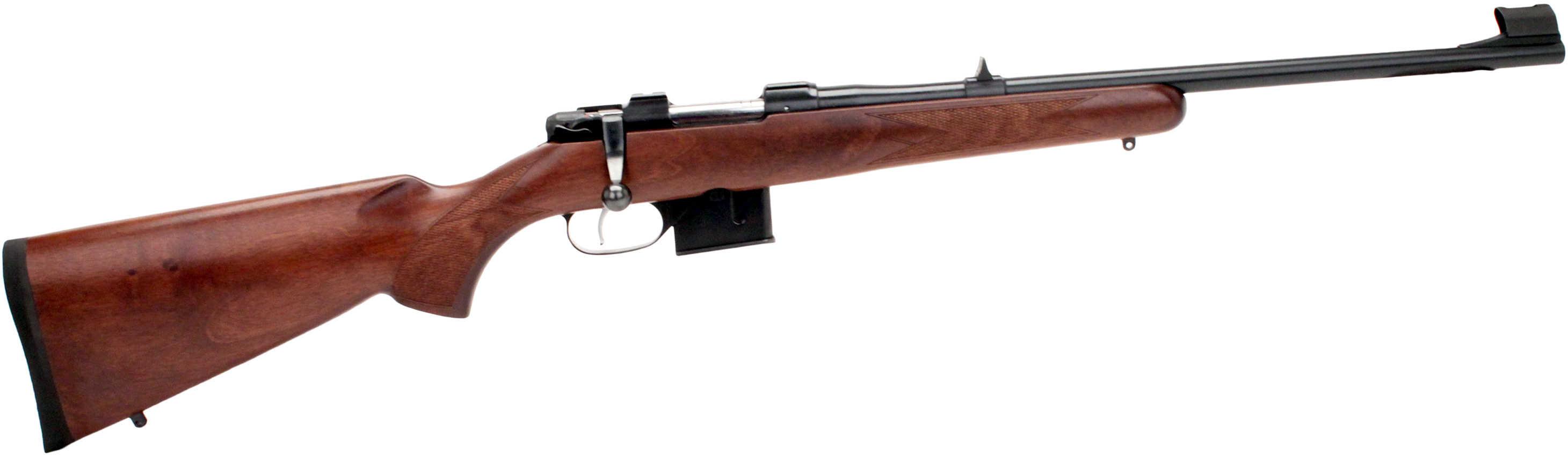 CZ 527 7.62X39mm Carbine Bolt Action Rifle Single Set Trigger Blued Barrel Walnut Wood Stock Micro Length Action 03050