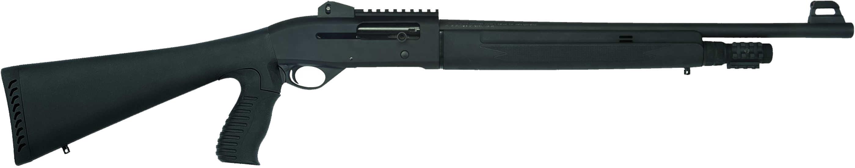 "Mossberg SA-20 20 Gauge 20"" Barrel Tactical Pistol Grip Stock 14"" Length of Pull Black Synthetic Shotgun 75780"