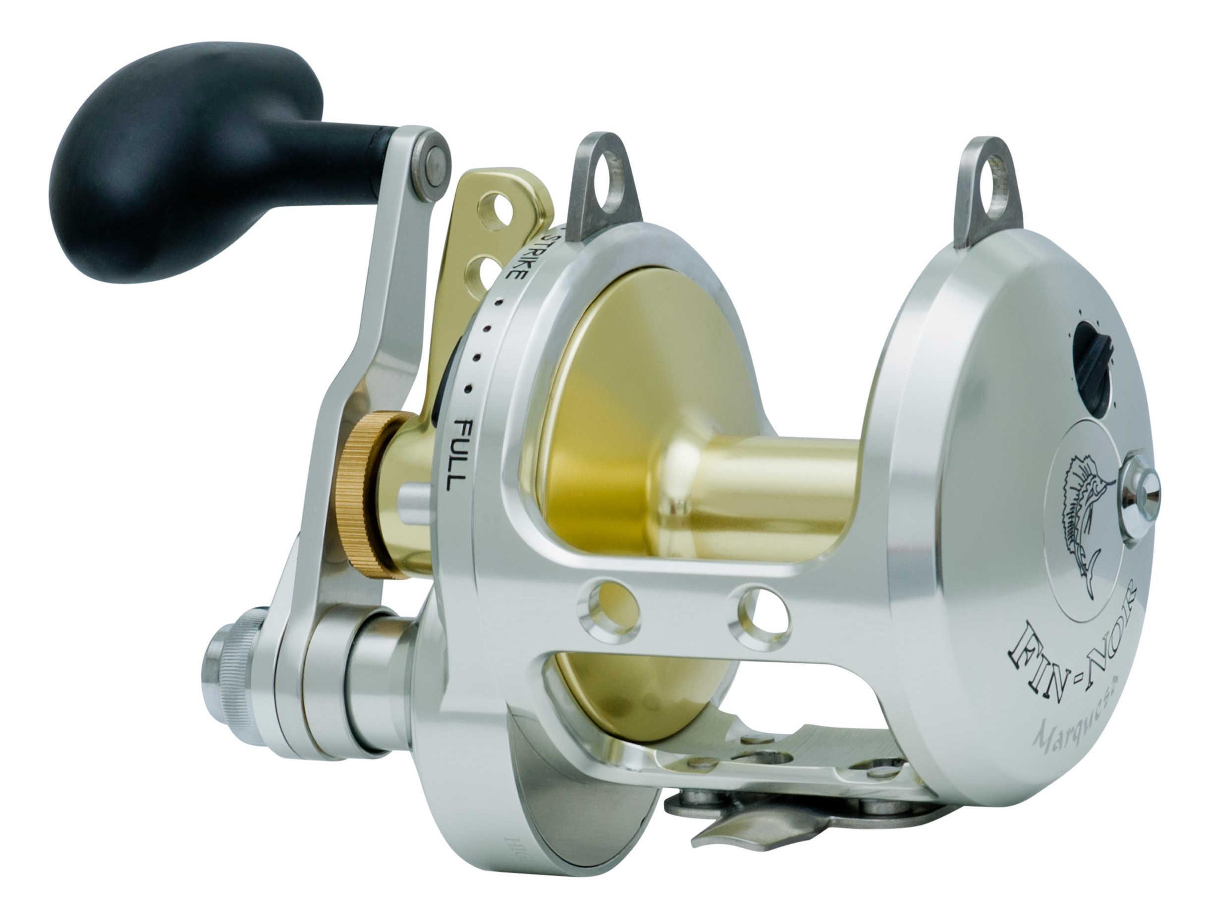Zebco / Quantum Fin-nor Marquesa Lever Drag 2-Speed Reel 40sz MA40II,,BX1