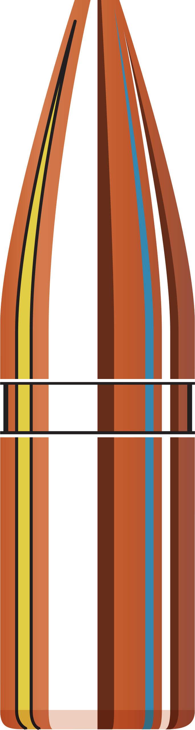 Hornady Bullet 22 Caliber .224 GMX 55 Grains 50/ 22273