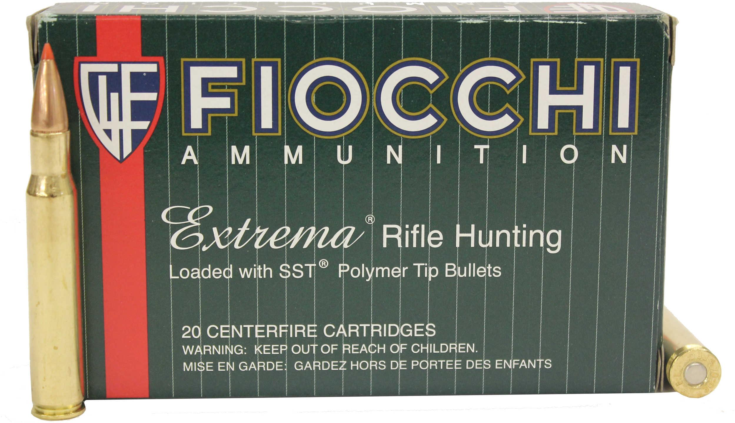 Fiocchi Ammo Extrema 30-06 150 Grains SST 20 Rounds Ammunition 3006HSA